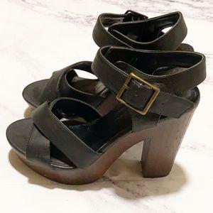 Open Toe Strap High Heel Sandal